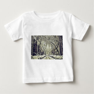 Winter Covered Streets Baby T-Shirt