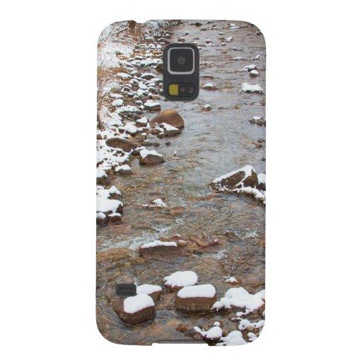 Winter Creek Scenic View Galaxy Nexus Cases