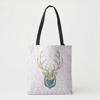 Winter Deer Harmony Tote Bag