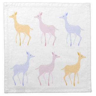Winter Deers napkins