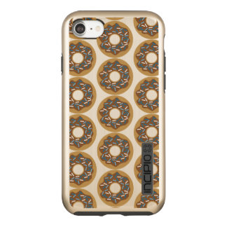Winter Donuts with Blue Sprinkles Iced Chocolate Incipio DualPro Shine iPhone 8/7 Case