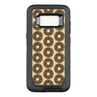Winter Donuts with Blue Sprinkles Iced Chocolate OtterBox Defender Samsung Galaxy S8 Case