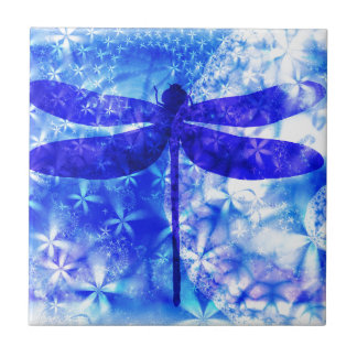 Winter Dragonfly Tile