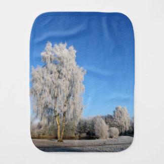 Winter Dream Burp Cloth