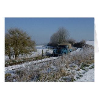 Winter Drive Card