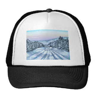 Winter Drive Trucker Hat