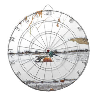 Winter Duck Dartboard