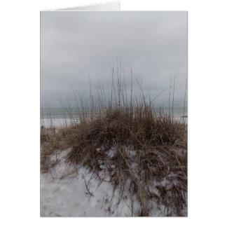Winter Dunes Card