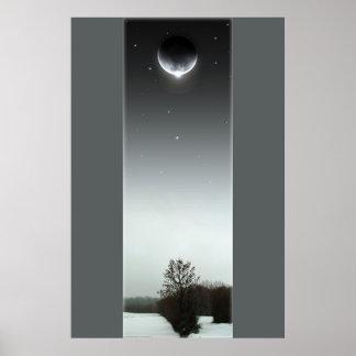 Winter Eclipse III Poster