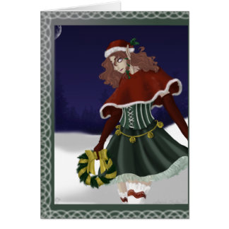Winter Elf Holiday Greeting Card