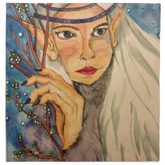 Winter Elf Napkin