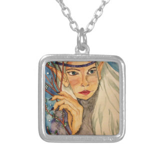 Winter Elf Silver Plated Necklace