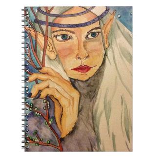 Winter Elf Spiral Notebook