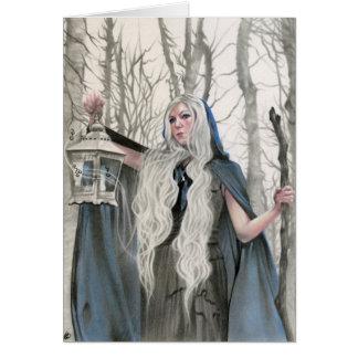 Winter Elve  Card