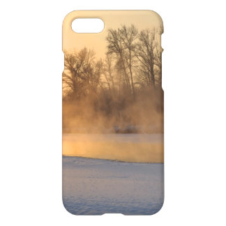 Winter Evening by the Frozen Lake iPhone 7 Case