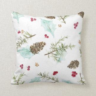 Winter Evergreen Pillow