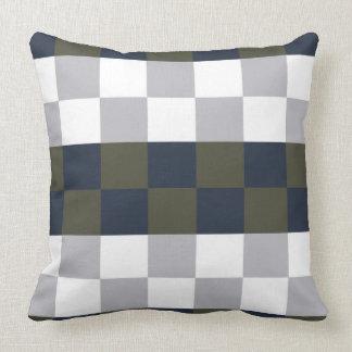 Winter & Evergreen Throw Pillow