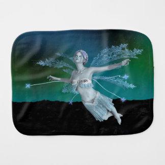 Winter Fairy Burp Cloth