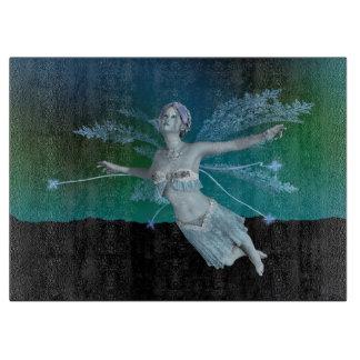 Winter Fairy Cutting Board