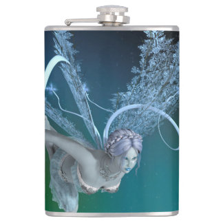 Winter Fairy Hip Flask