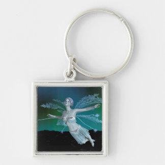 Winter Fairy Keychain