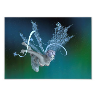 Winter Fairy Photo Print