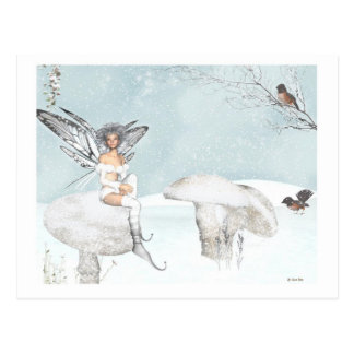 winter Fairy postcard