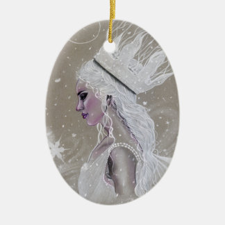 Winter Fairy Queenchristmas tree  Ornament