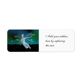 Winter Fairy Return Address Label