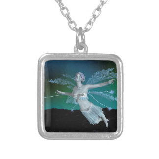 Winter Fairy Silver Plated Necklace