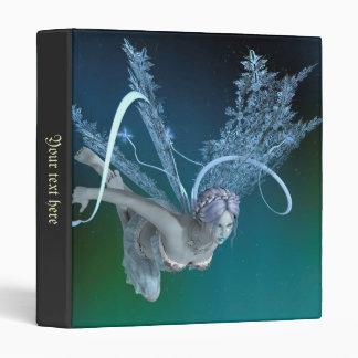 Winter Fairy Vinyl Binders