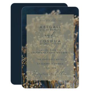 WINTER FLORA CARD