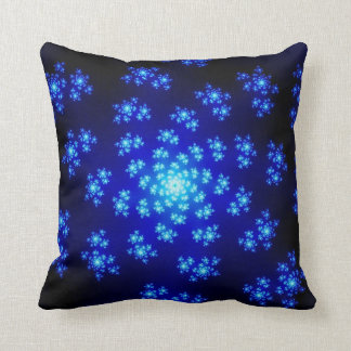 Winter Floral Sprinkles Throw Pillow