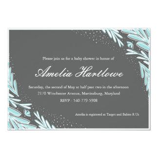 Winter Florals Card