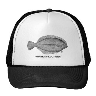 Winter Flounder Trucker Hat