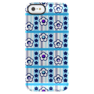 Winter Flowers Clear iPhone SE/5/5s Case