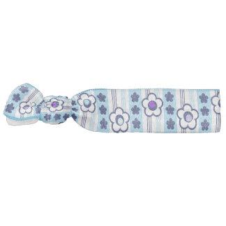 Winter Flowers Hair Tie