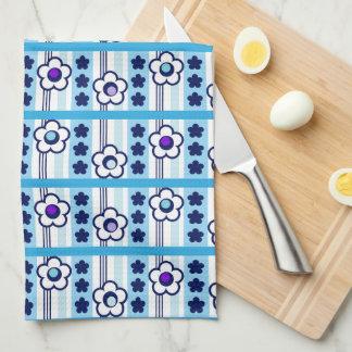 Winter Flowers Kitchen Towel