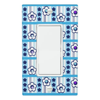Winter Flowers Light Switch Cover
