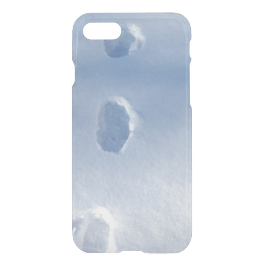 Winter Footprints in the Snow iPhone 7 Case