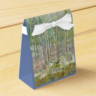 winter forest favor box