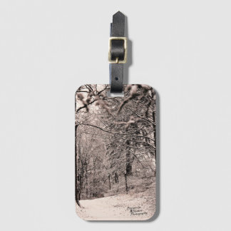 Winter Forest Luggage Tag (2.0)