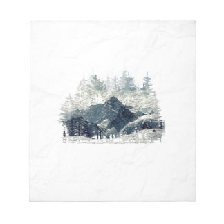 Winter Forest Notepad