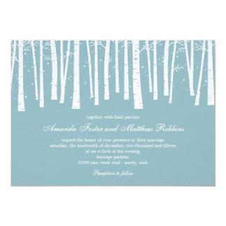 Winter Forest Wedding Invitations
