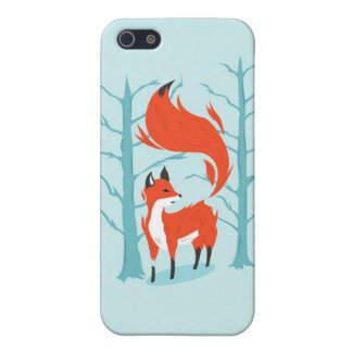 Winter Fox iPhone 5 Cover
