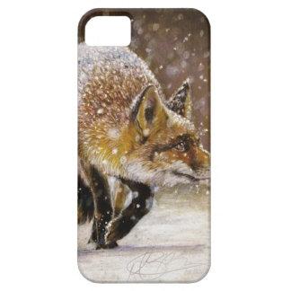 Winter Fox Iphone Case Original Artwork
