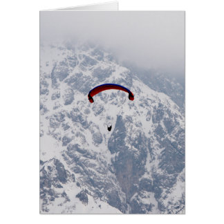 Winter Freedom Greeting Card