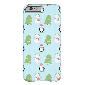 Winter Friends Barely There iPhone 6 Case