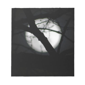 Winter Full Moon Notepads