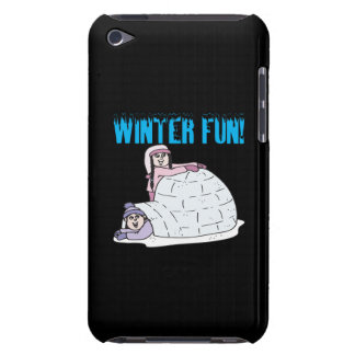 Winter Fun Barely There iPod Covers